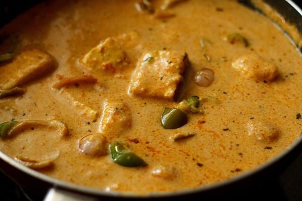 stir paneer tikka masala recipe