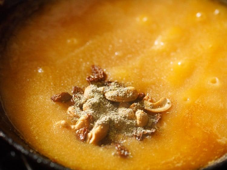making rava kesari recipe