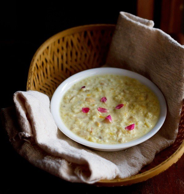 indian pudding kheer indian rice pudding with nuts and saffron kheer ...