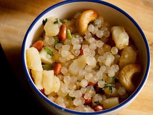 sabudana bhel recipe