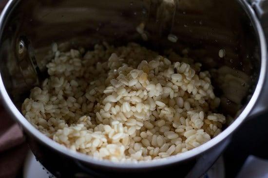 soaked lentils for medu vada