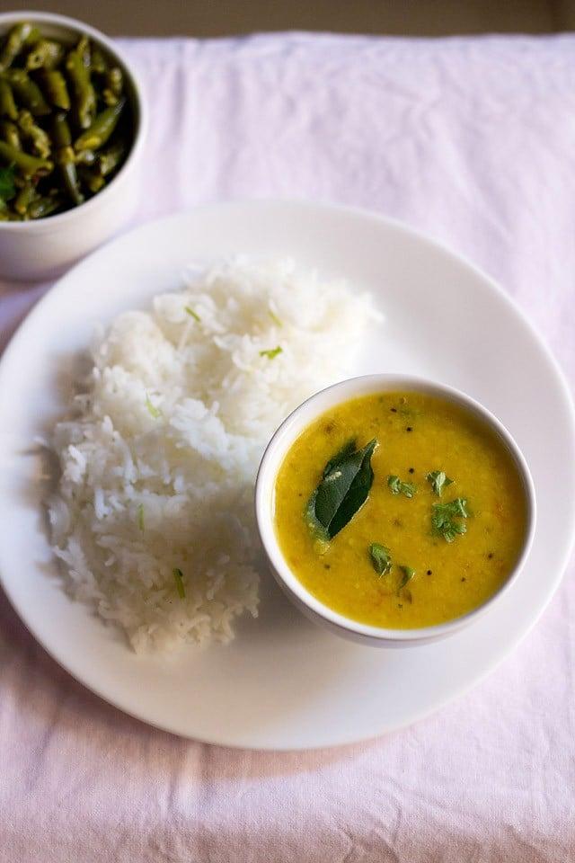 varan bhaat recipe for ganesh chaturthi festival