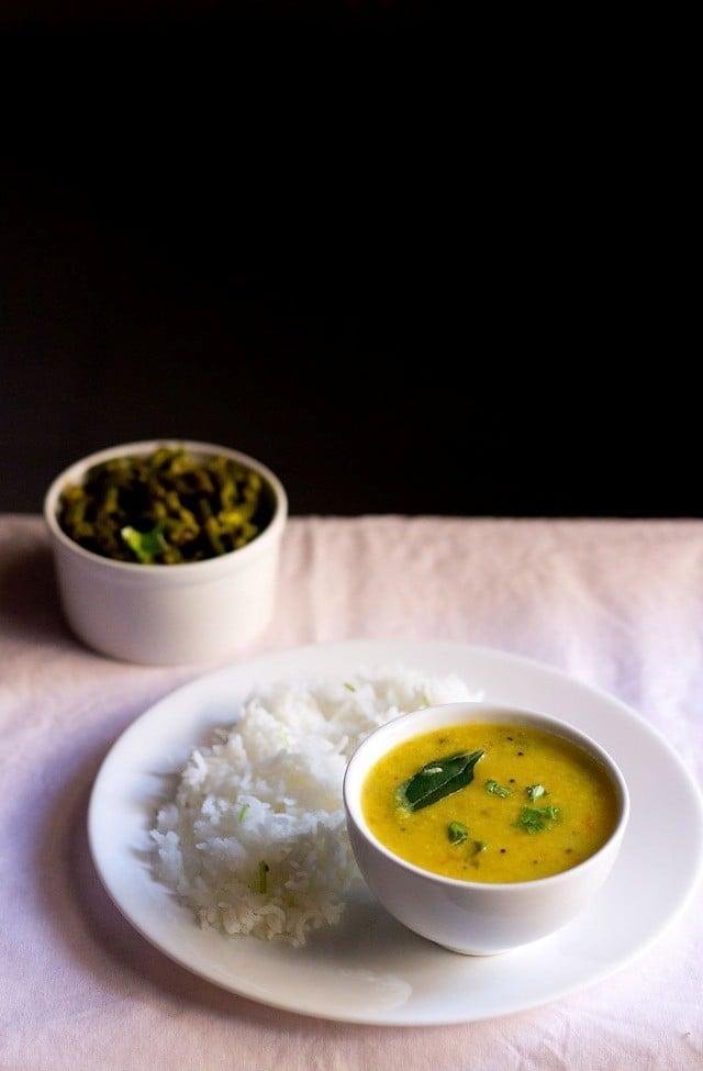varan bhaat recipe for ganesh chaturthi, how to make varan bhaat