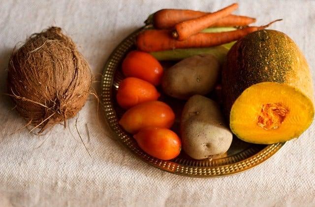 vegetables for navratari fast or vrat