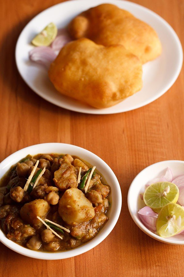 aloo chole recipe, aloo chana masala recipe