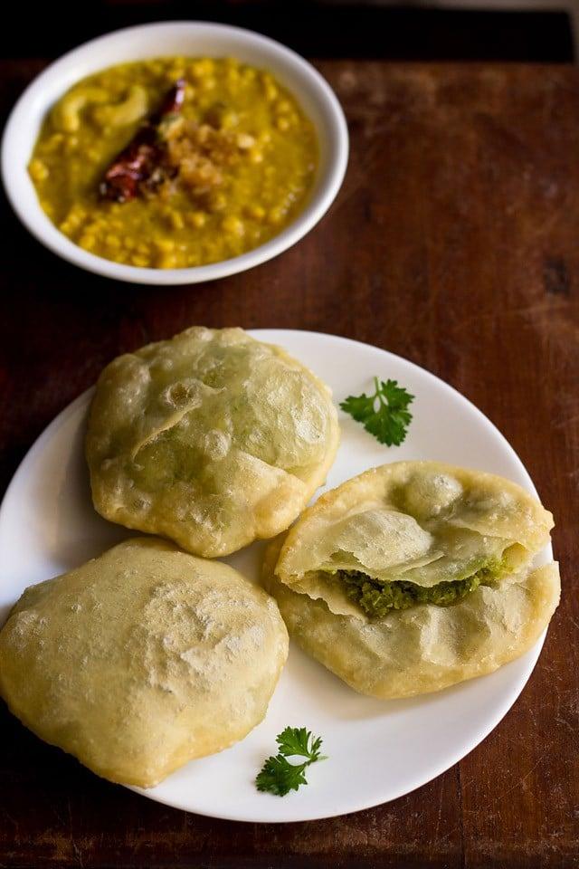bengali peas kachori recipe