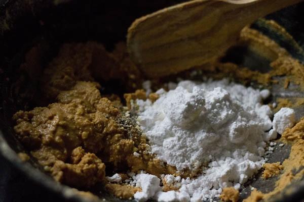 sugar for besan ladoo recipe
