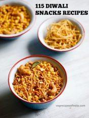 diwali snacks recipes | collection of 115 diwali snacks recipes