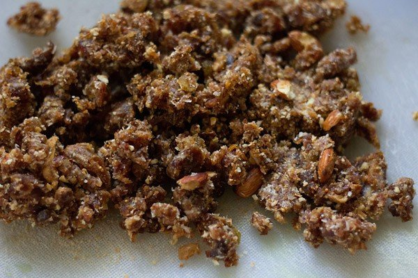 dry fruit ladoo mixture