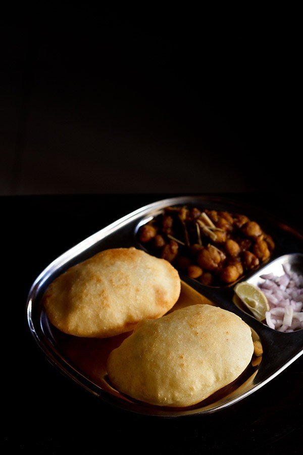 easy bhatura recipe, how to make easy bhature recipe