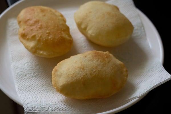 easy bhatura recipe, bhature recipe