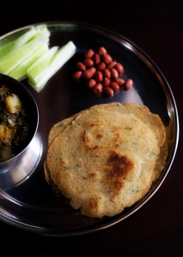 kuttu ka paratha or kuttu ki roti, how to make vrat ka paratha recipe