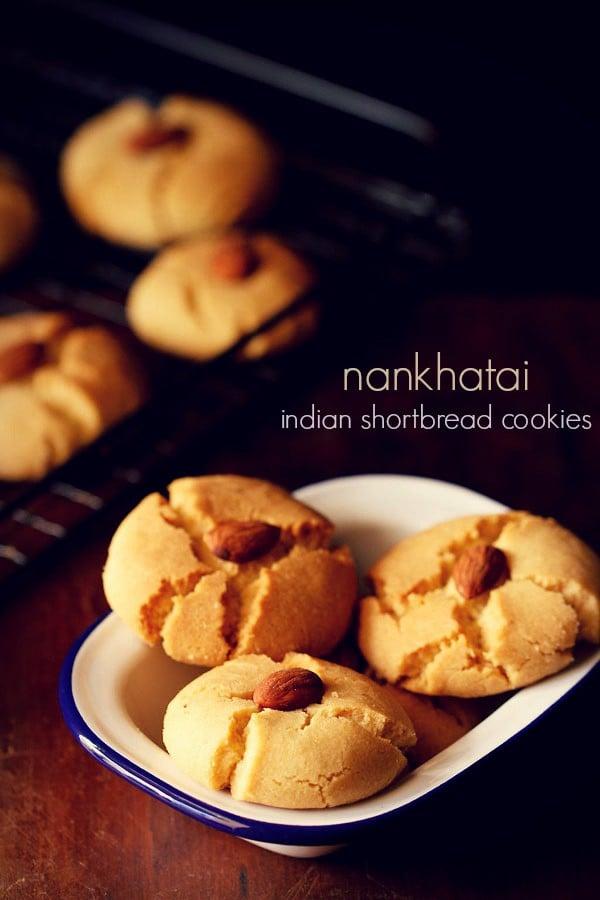 nankhatai recipe, how to make nankhatai recipe | sweets recipes