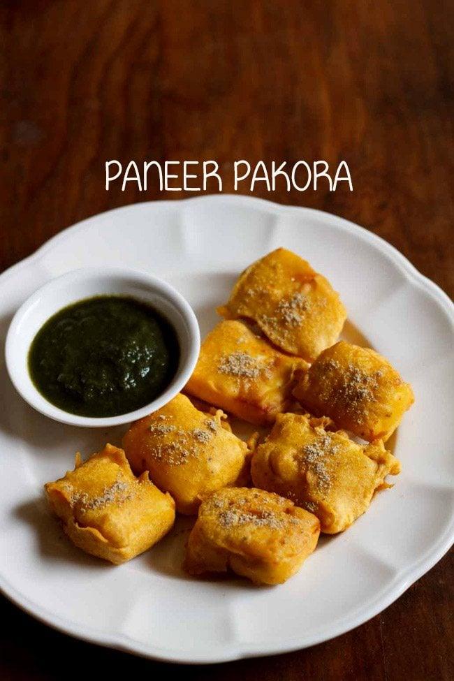 paneer pakora recipe | paneer pakoda recipe | how to make paneer pakora