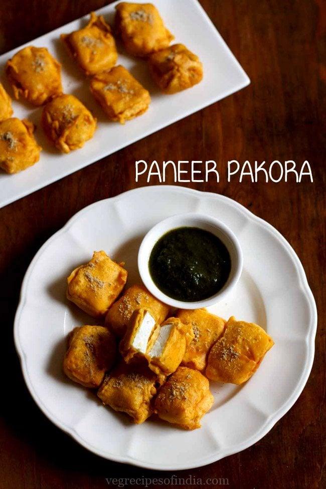 how to cook paneer pakora