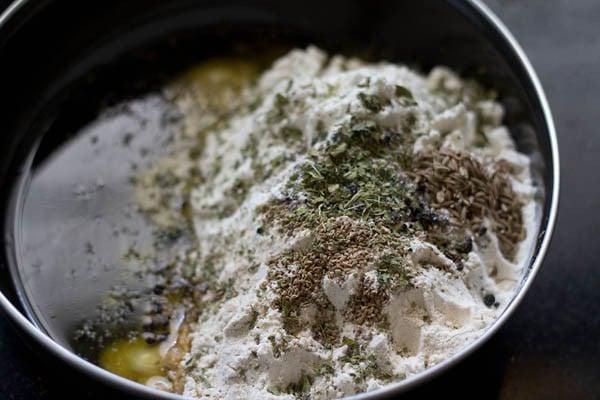 flour for mathri recipe
