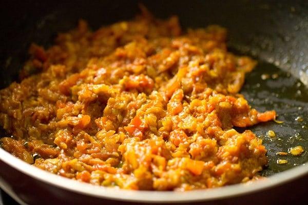 sauting rajma masala mixture