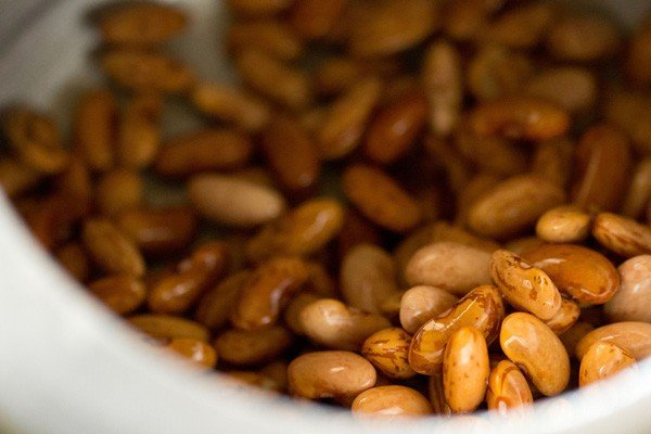 rajma beans added in a 3 litre pressure cooker