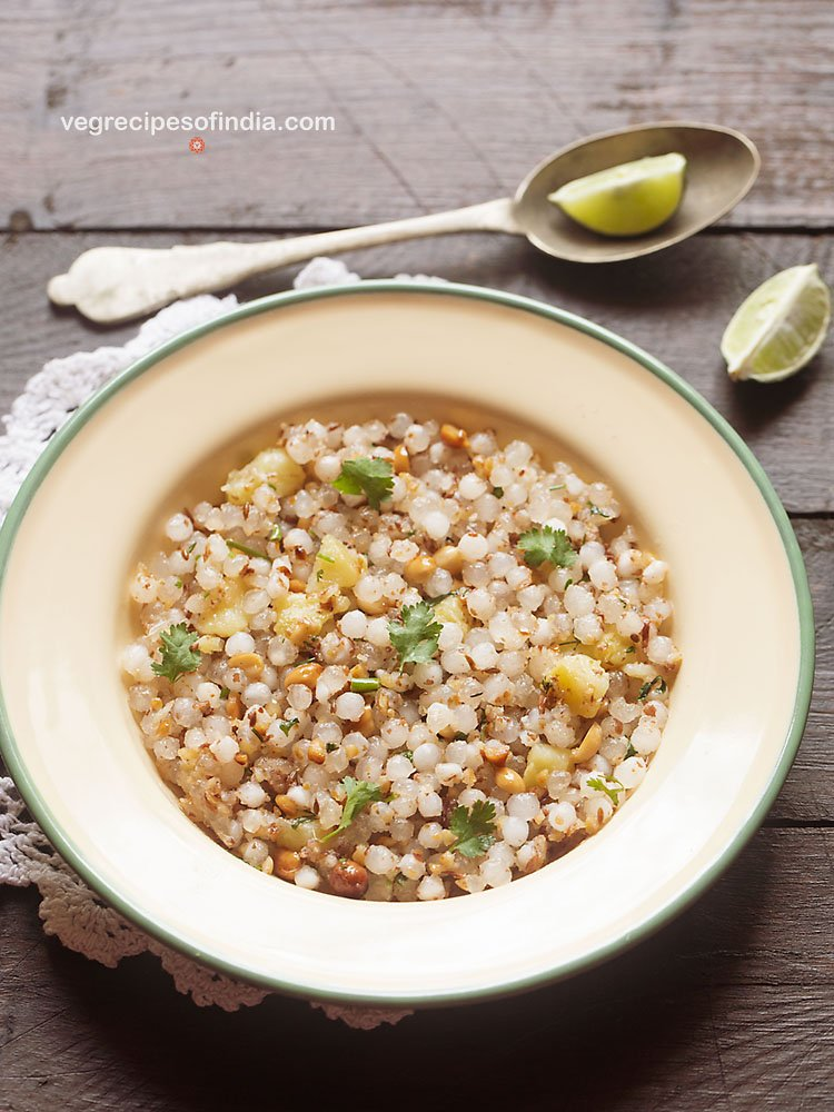 sabudana khichdi recipe for vrat or fasting