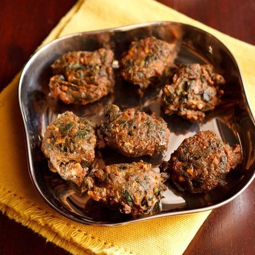 palak pakora recipe for navratri fasting or vrat