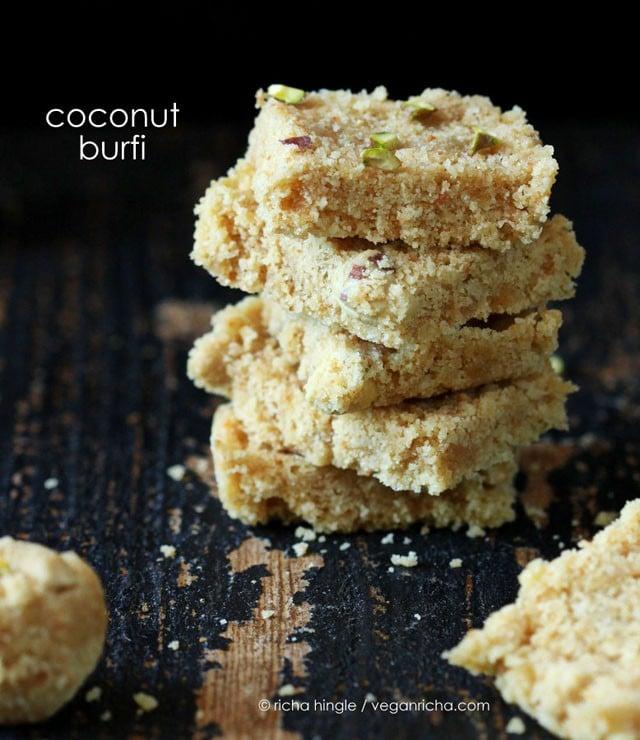 coconut burfi