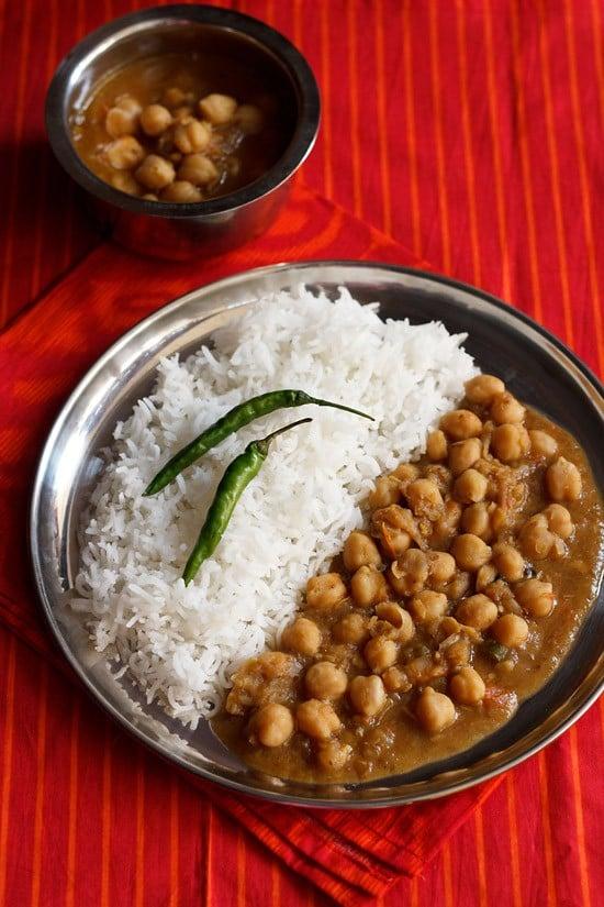 easy chole masala recipe, easy chana masala recipe