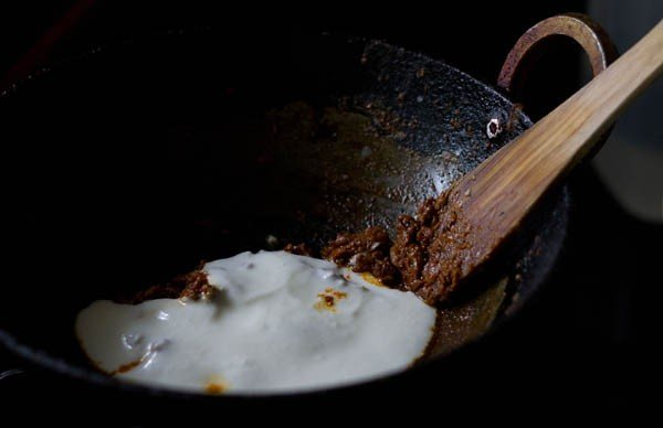 add cream to gobi masala recipe