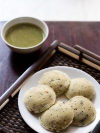 rava idli recipe, how to make rava idli