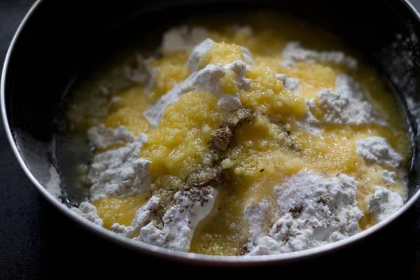 mix samosa pastry ingredients