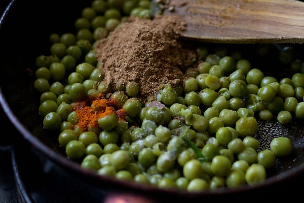 peas spices for samosa recipe