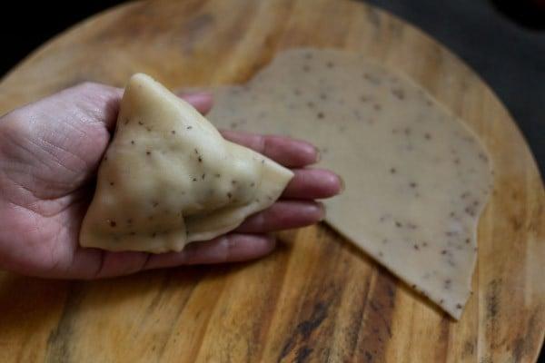 close samosa cover - samosa recipe