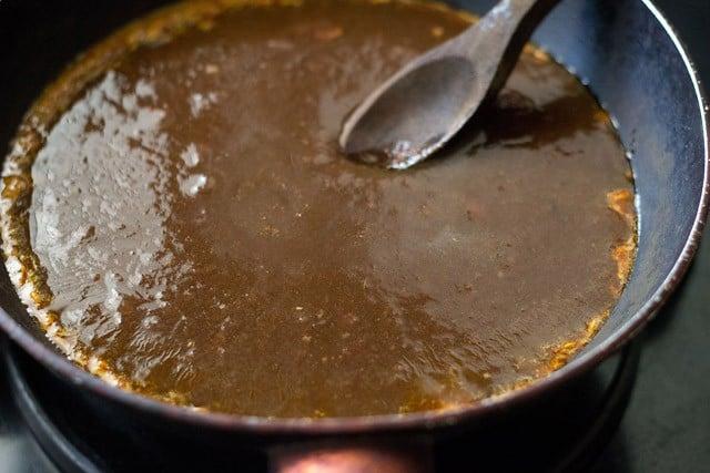 strained tamarind pulp