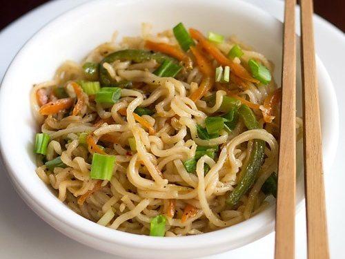 Noodles recipe how to make veg noodles recipe easy veg noodles recipe forumfinder Image collections