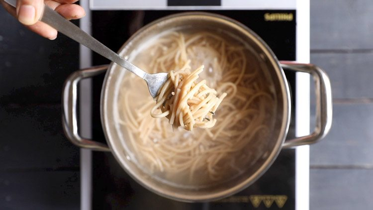 noodles cooked for veg noodles recipe