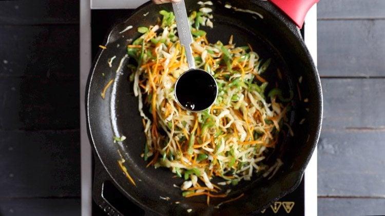 soy sauce for veg noodles recipe