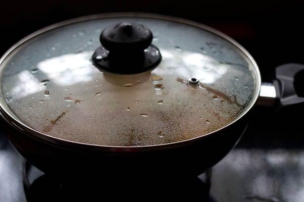 preparing restaurant style aloo gobi recipe