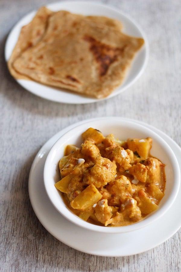 aloo gobi recipe restaurant style, how to make aloo gobi masala recipe