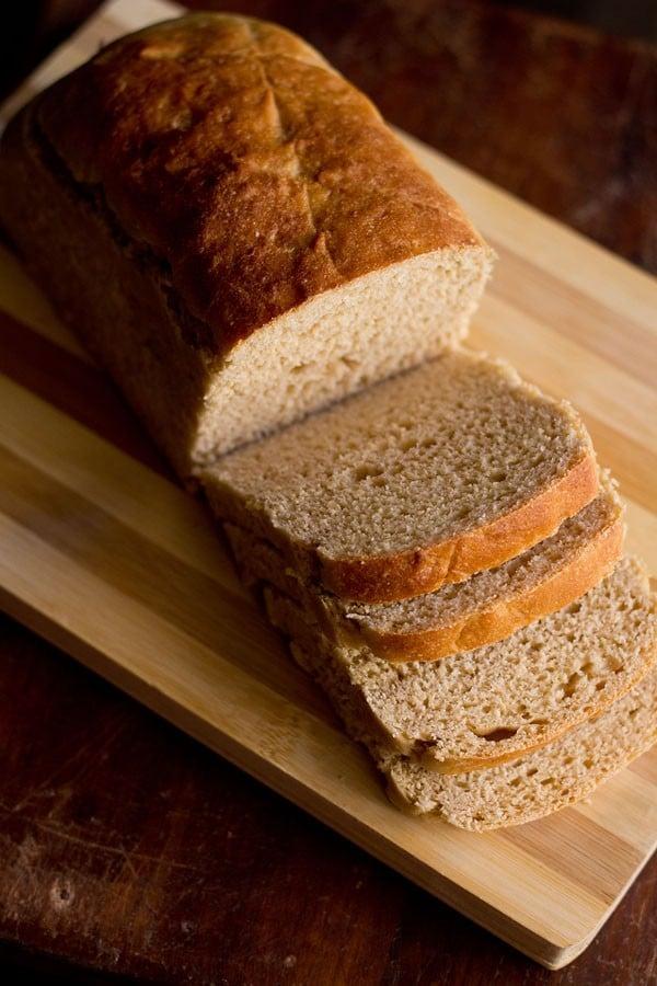 atta bread recipe, whole wheat bread recipe