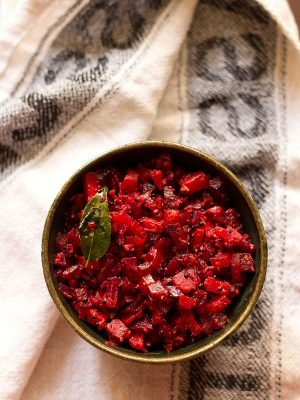 beetroot carrot poriyal recipe