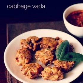cabbage vada