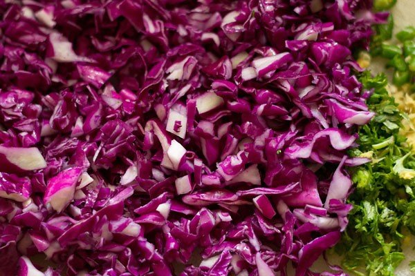 cabbage for cabbage vada recipe