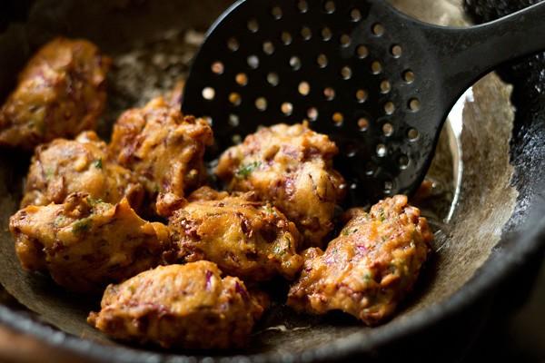 frying - cabbage vadai recipe