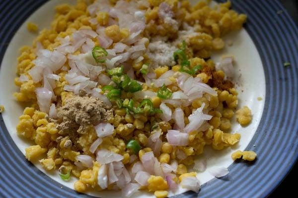 chana dal for chana dal paratha recipe