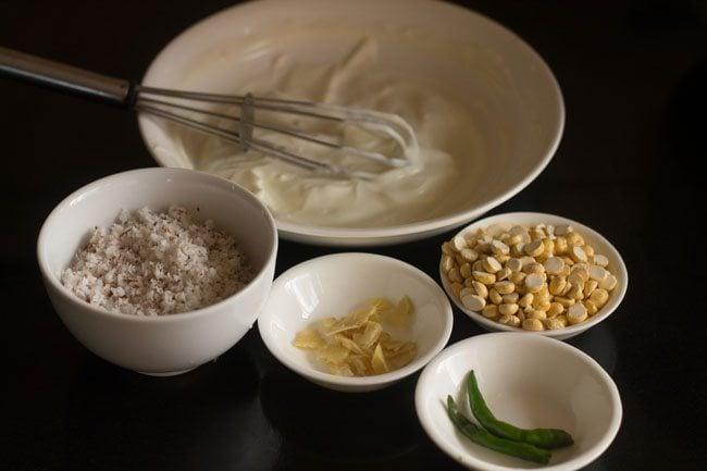 coconut curd chutney recipe