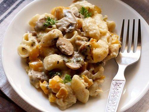 creamy mushroom pasta recipe