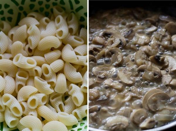 Creamy mushroom penne pasta recipes