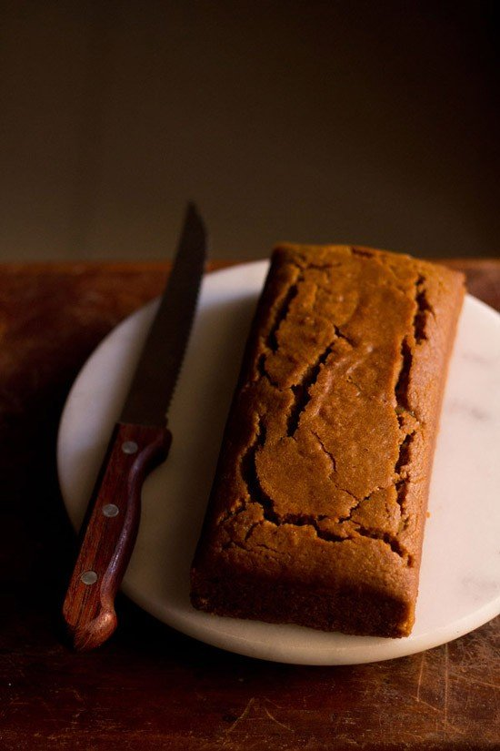Molasses Cake With Candied Ginger Recipe