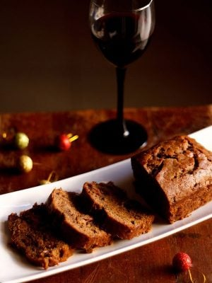 wine fruit cake