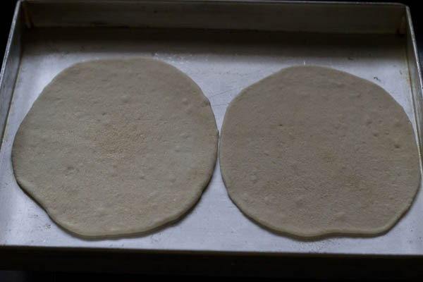 making naan with yeast in oven