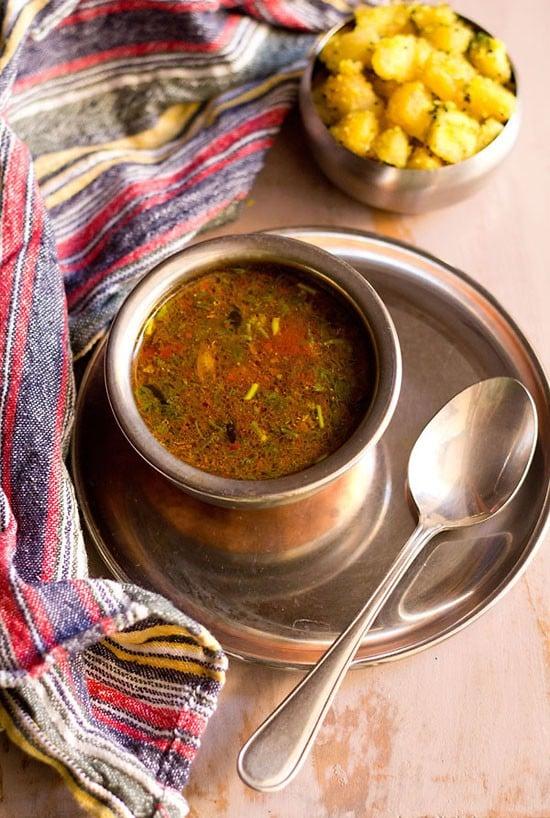 pepper cumin rasam recipe, how to make pepper cumin rasam recipe